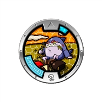 Yo-Kai Watch Series 4 Medal - Chummer