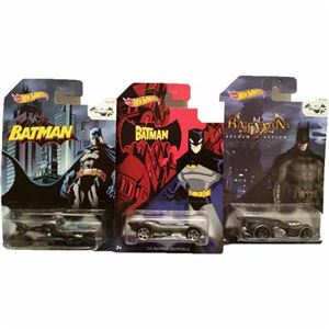 Bundle of 3 - Batman 75th Anniversary Diecast