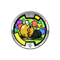 Yo-Kai Watch - Series 3 Medal - D'Wanna (3/24)