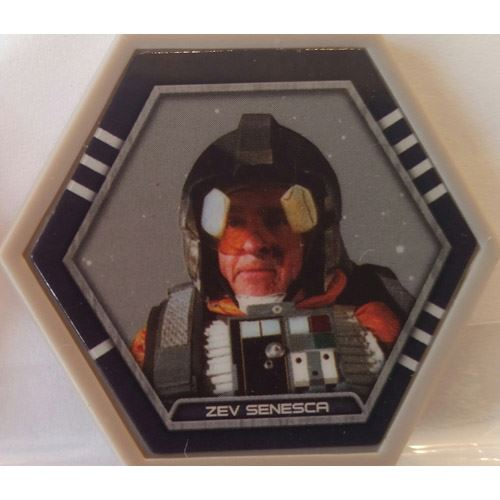 Star Wars Galactic Connexions - Zev Senesca - Gray/Standard - Common