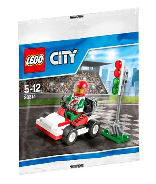 City Go-Kart Racer Mini Set