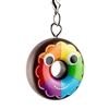 Kidrobot Yummy World Attack of the Donuts Keychain Series - Rainbow Frosted (2/24)