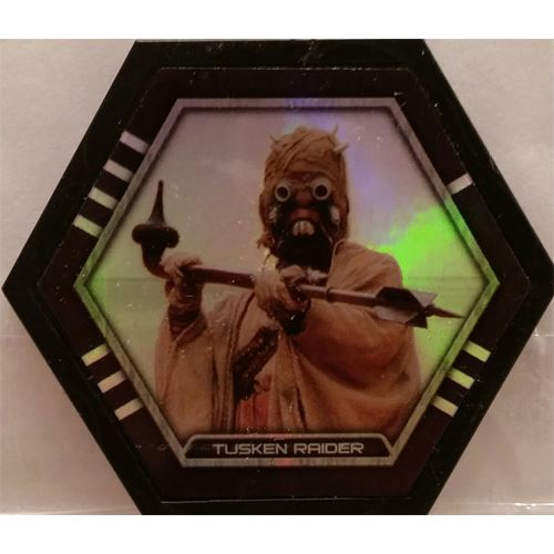 Star Wars Galactic Connexions - Tusken Raider - Black/Holographic Foil - Uncommon