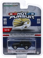 Greenlight - Hot Pursuit Series 32 - 1994 Jeep Wrangler YJ San Francisco Police