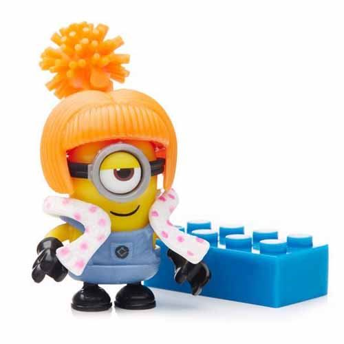 Buildable Minions Blind Packs Series V - Orange Hair - Rare