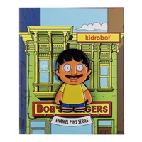 Kidrobot Bob's Burgers Enamel Pin Collection - Gene (2/20)