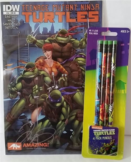 Bundle - 2 Items - TMNT Gift Set
