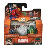"Minimates Marvel ""Captain America""  - Winter Soldier & Hydra Elite"