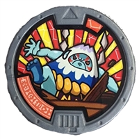 Yo-Kai Watch Series 2 Mad Mountain Medal [Loose]