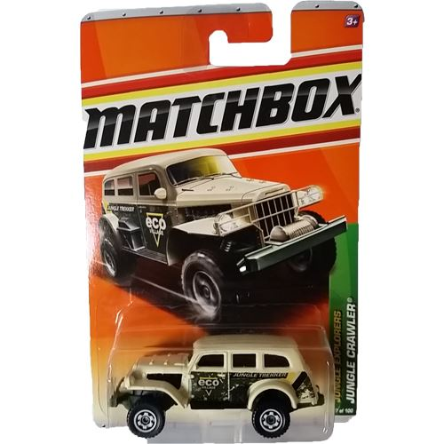 Matchbox Jungle Explorers - Jungle Crawler (Grey)