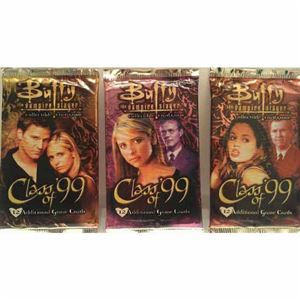 "Bundle - 3 Items - Buffy the Vampire Slayer ""Class of '99"" Booster Packs"