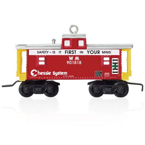 2015 Lionel Chessie WM Train Caboose