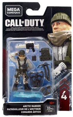 Call of Duty Mega Construx Arctic Ranger