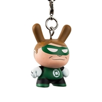 Kidrobot Justice League Dunny Series Keychain - Green Lantern