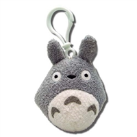 My Neighbor Totoro Backpack Clip - Grey