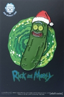 Christmas Pickle Rick! - Collectible Pin