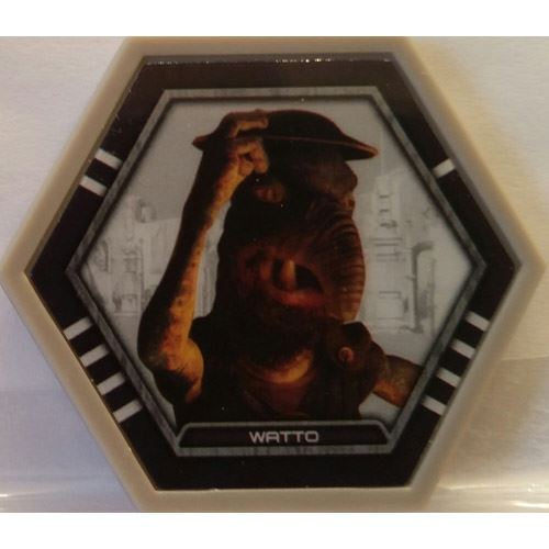 Star Wars Galactic Connexions - Watto - Gray/Standard - Common