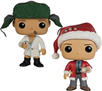 Funko Pop! National Lampoon Christmas Vacation Gift Set - Clark & Eddie