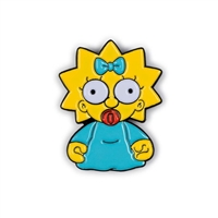 Kidrobot The Simpsons Enamel Pin Series - Maggie