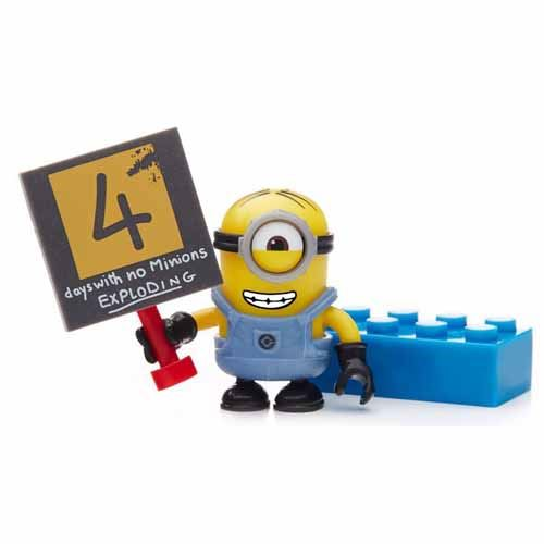 Buildable Minions Blind Packs Series V - 4 Days - Common