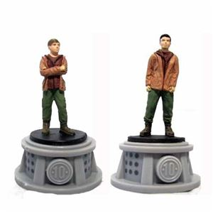 Bundle - 2 Items - The Hunger Games Figurines - Set of 2 Tributes - District 10
