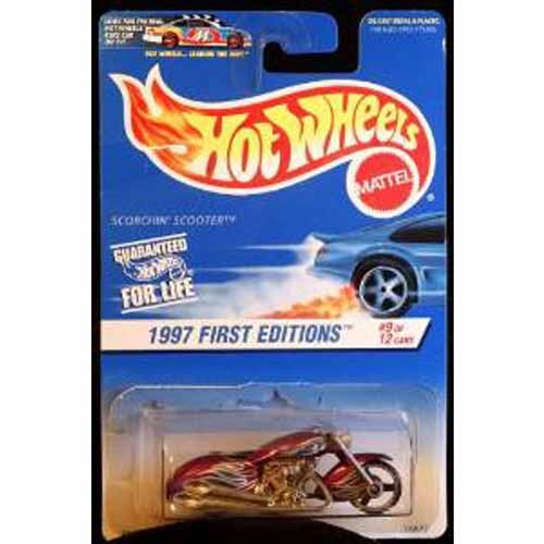 Hot Wheels 1997 First Editions - Scorchin Scooter