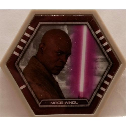 Star Wars Galactic Connexions - Mace Windu - Gray/Standard - Common