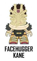 "Titans- Alien The Nostromo Collection' 3"" Vinyl Figure - FACEHUGGER KANE"
