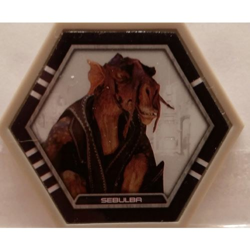 Star Wars Galactic Connexions - Sebulba - Gray/Standard - Common