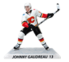 "Imports Dragon NHL 6"" Figure - Calgary Flames - Johnny Gaudreau (Away Jersey)"