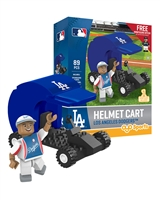 OYO MLB - Los Angeles Dodgers Helmet Cart with Minifigure