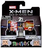 "Minimates Marvel ""X-Men Days of Future Past""- Professor X & Future Magneto"