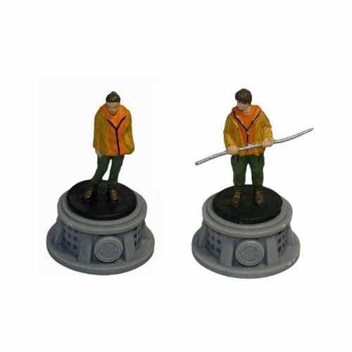 Bundle - 2 Items - The Hunger Games Figurines - Set of 2 Tributes - District 3