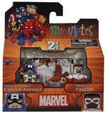 Marvel Minimates Wave 18 Fighting Chance Captain America And Marvel's Falcon