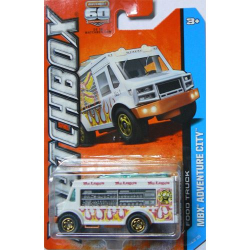 Adventure City - Food Truck (White)  (4/120)