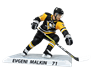 "Imports Dragon NHL 6"" Figure - Pittsburgh Penguins - Evgeni Malkin"