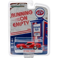 Greenlight - Running On Empty Series 1 - 1971 Dodge Charger - STP Diecast Vehicle