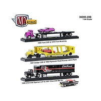 M2 Machines - Auto-Haulers (R20B) - 3 Truck Set