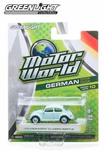 Motor World German Edition Volkswagen Classic Beetle Light Bluish Green