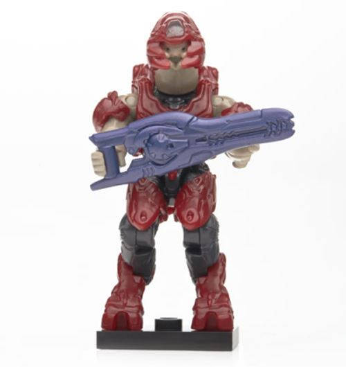 Halo Charlie Series - Red Storm Elite w/ Beam Rifle - Loose