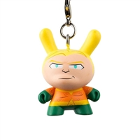 Kidrobot Justice League Dunny Series Keychain - Aquaman
