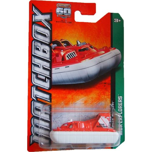Matchbox Explorers - Amphi Flyer (Orange/White)  (31/120)