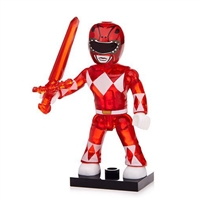 Mega Construx Power Rangers Blind Bag Series 1 - Red Power Ranger