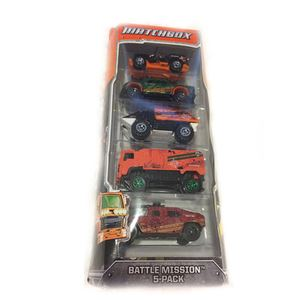 2012 Battle Mission - 5 Pack