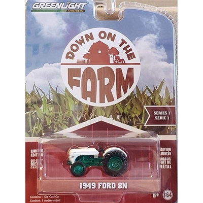 Down on the Farm Series 1-1949 Ford 8N (Green Machine)
