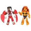 Marvel Minimates - Most Wanted - Tigra & Classic Falcon