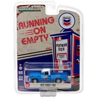 Greenlight - Running On Empty Series 1 - 1972 Ford F-100 - Chevron Diecast Vehicle