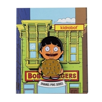 Kidrobot Bob's Burgers Enamel Pin Collection - Gene in Burger Suit (1/20)