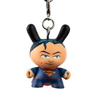 Kidrobot Justice League Dunny Series Keychain - Superman