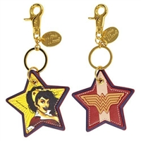 DC Comics Bombshells Wonder Woman Faux Leather Keychain